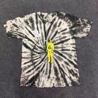 t-shirt à cravate pour femme achat en gros de-19ss Cravate Teinture Travis Scott Astroworld Tour Astronaut Tee T-shirt Tee shirt Homme Femme 1a: 1 La meilleure qualité à manches courtes Hommes Hip-Hop t-shirts