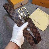 accessoires de ceinture de cuir achat en gros de-Nouvelle garniture en métal doré de nouvelle meilleure qualité classique vieille ceinture de fleurs, cuir décontracté pour hommes