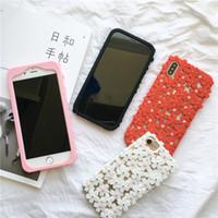 casos da flor de cerejeira do iphone venda por atacado-Belas flores de cerejeira phone case tpu bumper casos para iphone xs max / xr x 8/7/6 além de durável à prova de choque proteger você cellphone shell