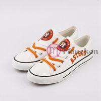 sapatos diy mulheres venda por atacado-2019 Shoes Unissex Diy Astros Homens Mulheres lona Adultos personalizados Walking Shoes Lazer Lace Up 043