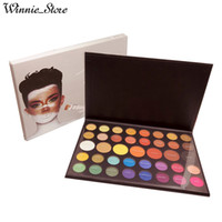 Wholesale glitter shadows online - by ePacket Newest Makeup Eye Beauty James Charles Eyeshadow Palette Colors Christmas Eye shadow Powder Palette With Gifts