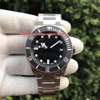 Wholesale best titanium bracelets for sale - Best Edition Wristwatches mm TN TB Titanium Bracelet Swiss ETA Movement Automatic Mechanical Mens Watch Watches