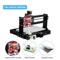 ingrosso incisione mini cnc-CNC 3018 Macchina del router di CNC PRO Laser Engraver Wood Machine grbl ER11 hobby fai da te per incidere di legno PCB PVC Mini Engraver