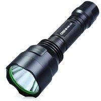 batteries c8 t6 achat en gros de-Lampe de poche à LED étanche extérieure CREE XML T6 UltraFire C8 1300LM (1 pile 18650)