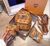 ingrosso donne di stile del calcio-2019 Borsa da sella nuove borse da donna famose in stile zaino per borse da scuola per ragazze borse a tracolla firmate da donna