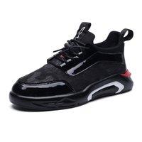 nouvelles chaussures design masculin achat en gros de-Nouveau Patchwork Conception Chaussures Hommes Casual Chaussures De Maille zapatos hombre Haute Sequins Conception Mâle Sneaker De Mode