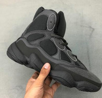 Wholesale design tennis shoes resale online - 500 High Slate Designed Sneaker Midsole Boost Training Sneakers trainers athletic best sports running shoes for men boots online shopping
