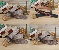 ceinture de tigre femme achat en gros de-Ceinture en gros de tigre d'abeille de serpent lettre boucle boucle 15 modèle célèbre ceinture de jeans de haute qualité pour les hommes et les femmes taille sangle