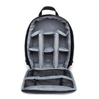 Wholesale nylon video bag resale online - Waterproof Camera Video Backpack Professional Shoulder Bag Case Interior Slot Pocket Interior Compartment