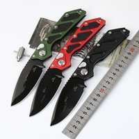Wholesale doc knife resale online - DOC death of contact Killswitch D2 blade double action Hunting Pocket collection knives Xmas gift for men