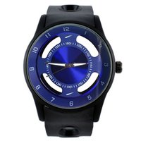 Wholesale watches without logos for sale - Group buy Fashion Brand LOGO women men s Hollow style Silicone band quartz wrist watch N06
