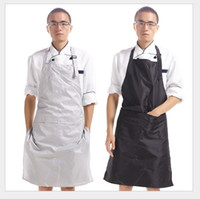 Wholesale kitchen apron pvc resale online - High Quality PVC Waterproof Aprons Adjustable Sleeveless Cooking Work Aprons Kitchen Apron Schort Chef Apron Tablier Barbe