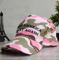 Wholesale snapback army casual online - KEEP AMERICA GREAT hat Camouflage Baseball Cap Embroidery Snapback Hats Men Women Unisex Sport Camo Army Caps color KKA6345