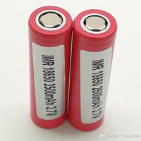 aa şarj edilebilir piller usb toptan satış-100% Yüksek Kalite INR 25R 30Q VTC4 VTC5 VTC6 HE2 HE4 HG2 18650 Batarya 2100mAh 2500mAh 2600mAh 3000mAh 3.7V Şarj Edilebilir Lityum stok satış
