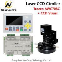laser visual venda por atacado-Trocen Anywells AWC708C CCD Visual CO2 Laser DSP System Controller Para Laser cortador gravador NEWCARVE