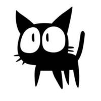 büyük çizgi film çıkartmaları toptan satış-Büyük Gözler Kedi Karikatür Araba Etiketler Çıkartmaları Bireysel Motosiklet Araba Dekorasyon Aksesuarları CA-568