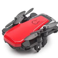 antenne hd-kamera großhandel-Selfie Luftaufnahmen Mini Hubschrauber WIFI Faltbare One Key Return Drone HD Kamera Headless Mode Lange Batterie Fernbedienung