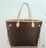 LOUIS VUITTON Classic old color NF shopping bag child mother bag shoulder  bag 001 2f174a3db62