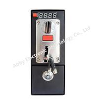 precio caja de monedas al por mayor-Aceptador de monedas electrónico ICE precio DG600F con temporizador caja de control para silla de masaje lavadora