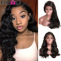 Wholesale inches body wave wig for sale - Group buy 360 Full Lace Human Hair Wigs For Black Woman Cheap Body Wave Wig Remy Human Hair Malaysian Full Lace Wig Inch Beyo