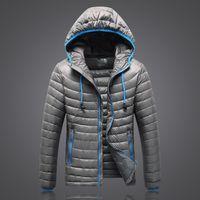 roupas ultraleves para baixo venda por atacado-Hot New the Winter Men clothing Jaquetas com zíper casacos ultraleve manter quente North Island casacos ao ar livre outwear Casacos Parkas 001503