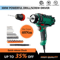 Wholesale cord release resale online - 300W Power Tool Corded Electric Power Drill Screwdriver Energy Drill with mm Quick Release Chuck Max Torque Nm m Cord Acc