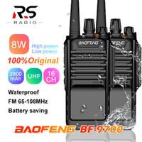 ingrosso walkie 8w-1/2 / 3PC BAOFENG BF-9700 8W 2800mAh potente impermeabile walkie talkie stazione radio cb radio marina Comunicador HF Transceiver