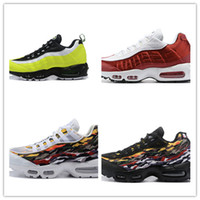 Wholesale air sneaker sale resale online - 2019 new arrive hot sale OG AIRS Mens Running Shoes Classic Black Red White grey blue Sports outdoor Sneakers outdoor walking shoes
