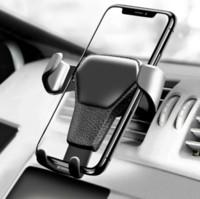 havalandırma delikli cep telefonu tutacağı toptan satış-Yerçekimi Araba Hava Firar Dağı Cradle Tutucu Cep Telefonu Cep Telefonu GPS için Standı