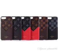 iphone'yu kapıyorum toptan satış-Lüks PC Kart Yuvası Tutucu Cüzdan Telefon Kılıfı Için iphone XS MAX XR XS Arka Kapak İnce PU Kabuk iphone X 8 7 6 6 s Artı Telefon Kapakları