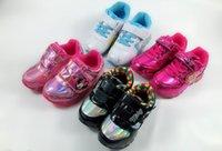 sapatos coreanos venda por atacado-Exportação para a Coreia do Sul dos desenhos animados calçados esportivos feminino bebê casual moda princesa sapatos