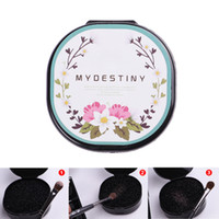 Wholesale iron box brush online - Quick Clean Sponge Scrub Iron Box Cleanup Powder Tool Dry Cleaning Box Makeup Brushes Cleaner Makeup Brush Cleaning Tools RRA971