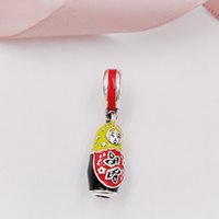 Wholesale styles mix bracelets for sale - Group buy Authentic Sterling Silver Beads Matryoshka Doll Charm Mixed Enamel Charms Fits European Pandora Style Jewelry Bracelets Necklace
