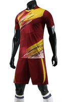 Wholesale best football jerseys resale online - Customized Soccer Jerseys With Shorts Training Jersey Custom Team Jerseys And Shorts yakuda football uniform training fitness exercise best