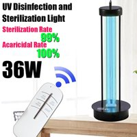 Wholesale timed light resale online - UV Disinfection and Sterilization Light UVC Light V W Light with Time Remote Control for Living Area UV lights