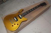 klavye renkleri toptan satış-Ücretsiz kargo G-LP Stüdyo Saten Yeni varış abalone fret kakma klavye jak matsumoto İmza altın renk Elektrik Gitar