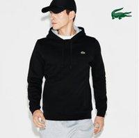 ingrosso abbigliamento francese abbigliamento-marca Autunno francese progetta hoodies degli uomini vestiti di polo a manica lunga ricamo Felpe Mens Streetwear Acne Hoody Abbigliamento Uomo