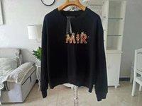 erkek kısa kollu sweatshirtler toptan satış-2019 paris AMI Erkek Tasarımcı Sweatshirt alev Baskılı kısa kollu MIRI Erkek Moda Tasarımcı Sweatshirt En hoodie zdlp90.