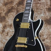 Wholesale fast guitars resale online - 2019 China guitars Custom Shop Black string Electric Guitar Mahogany body Rosewood Fingerboard Fast delivery Accept OEM business
