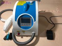 nova remoção de tatuagem venda por atacado-Novo PROFESSIONAL Nd Yag Laser Máquina de Sobrancelha Remoção TATTOO remoção de Pigmentação remoção de Pigmentação Q INTERRUPTOR dispositivo de Beleza Eu livre de impostos