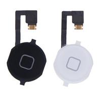 ingrosso parti del sensore flex-Assemblaggio del pulsante Home Flex Cable Sensor Parti complete del nastro per 4S