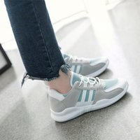 Wholesale korean running shoes resale online - Women s Shoes New Spring and Autumn Women s Mesh Leisure Large Korean Edition Running Student Breathable Shoes