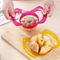 Wholesale kitchen apple slicers resale online - Fruit Slicers Kitchen Tools Easy Cutter Cut Fruit Knife Cutter for Apple Pear Color to Choose HHA591