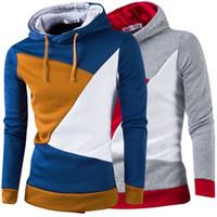с капюшоном оптовых-Горячие продажи новая мода корейский повседневная мужская толстовка с капюшоном кардиган Slim Fit кофты пальто для мужчин