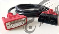 peugeot citroen herramienta de diagnostico original al por mayor-100% original para Autel Maxidas ts508 Cable principal OBDII TS508 Cable de prueba para herramientas de diagnóstico 508 cables OBD 2