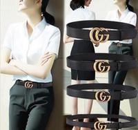 ingrosso jeans di merci di qualità-Merci di alta qualità in cinture di marca di alta qualità uomo cinture di jeans cinture di cinture per uomo fibbia in metallo donna con
