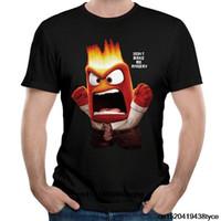 iç film toptan satış-Çizgi Film Popüler Inside Out Öfke Tişörtleri