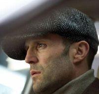 casquillos de jason al por mayor-Moda Octagonal Cap Newsboy Beret Hat Sombreros de otoño e invierno para la superestrella internacional de los hombres Jason Statham Modelos masculinos