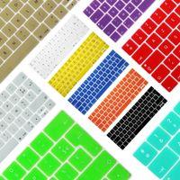 """teclado da língua japonesa venda por atacado-À prova de poeira filme silicone teclado do portátil película protetora à prova d 'água para macbook touch bar 13 """"15"""" tampa do teclado notebook da ue francês"""