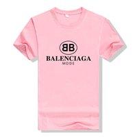 sıcak satış kadın t gömlek toptan satış-Erkek Tasarımcı T Shirt Yaz Marka Harfler Baskı T Gömlek çift Erkek Kadın Moda Stil Tees Sıcak Satmak Lüks Erkek Giyim Tops